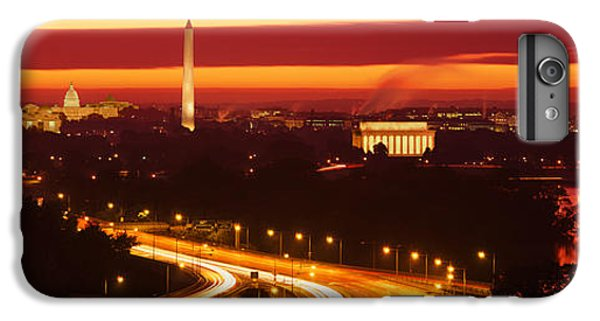 Sunset, Aerial, Washington Dc, District IPhone 6 Plus Case by Panoramic Images