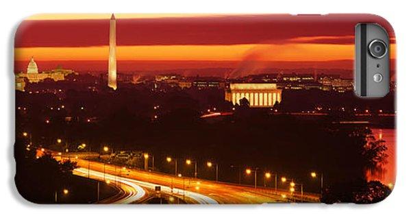 Sunset, Aerial, Washington Dc, District IPhone 6 Plus Case