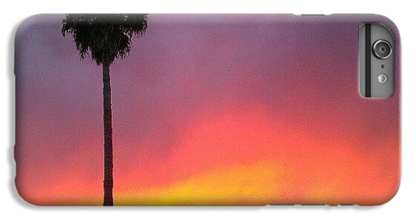 Orange iPhone 6 Plus Case - Sunset California by CML Brown