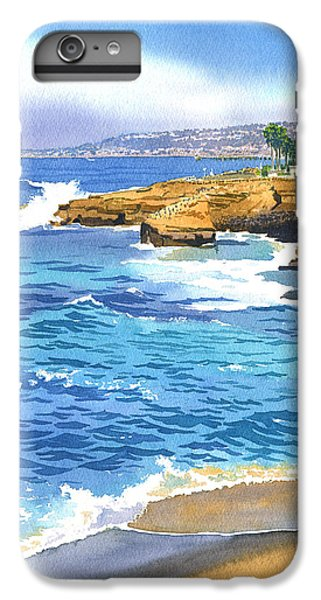 Pacific Ocean iPhone 6 Plus Case - Sunset Cliffs Point Loma by Mary Helmreich