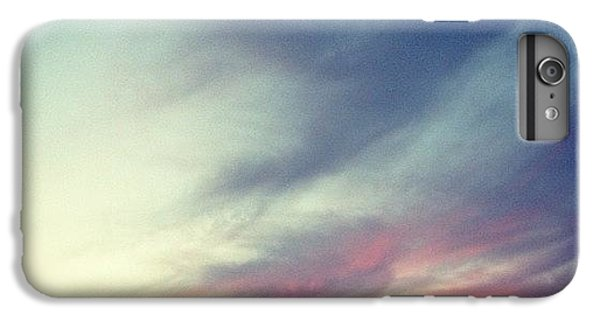 Orange iPhone 6 Plus Case - Sunset Clouds by Christy Beckwith