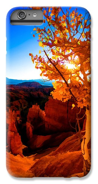 Nature Trail iPhone 6 Plus Case - Sunset Fall by Chad Dutson