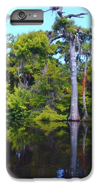 Osprey iPhone 6 Plus Case - Swamp Land by Carey Chen