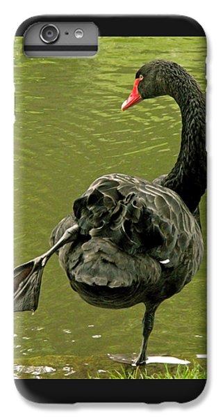 Swan Yoga IPhone 6 Plus Case