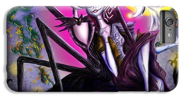 Sweet Loving Dreams In Halloween Night IPhone 6 Plus Case by Alessandro Della Pietra