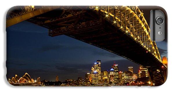 IPhone 6 Plus Case featuring the photograph Sydney Harbour Bridge by Miroslava Jurcik