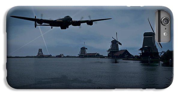 Dambusters Lancaster T For Tommy En Route To The Sorpe IPhone 6 Plus Case by Gary Eason