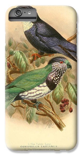 Parakeet iPhone 6 Plus Case - Tahiti Lory by Dreyer Wildlife Print Collections