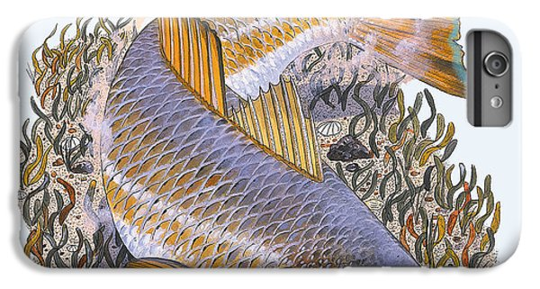 Drum iPhone 6 Plus Case - Tailing Redfish by Carey Chen