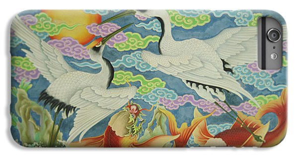 Taiwan, Peimen, Nankunshen Temple IPhone 6 Plus Case by Jaynes Gallery