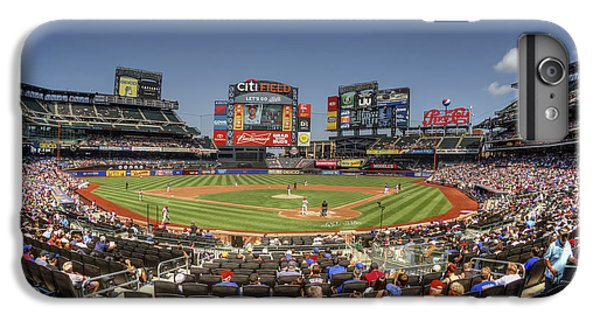 New York Mets iPhone 6 Plus Case - Take Me Out To The Ballgame by Evelina Kremsdorf