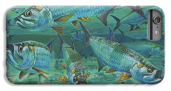 Tarpon Rolling In0025 IPhone 6 Plus Case by Carey Chen