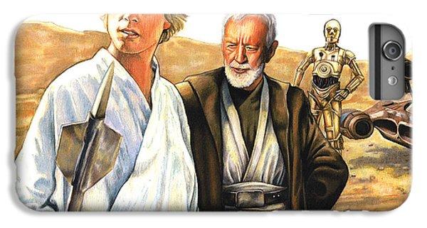 Han Solo iPhone 6 Plus Case - Tatooine Massacre by Edward Draganski