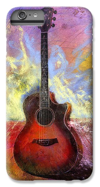 Guitar iPhone 6 Plus Case - Taylor by Andrew King
