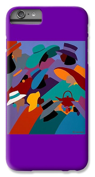iPhone 6 Plus Case - Tea And Conversations by Synthia SAINT JAMES