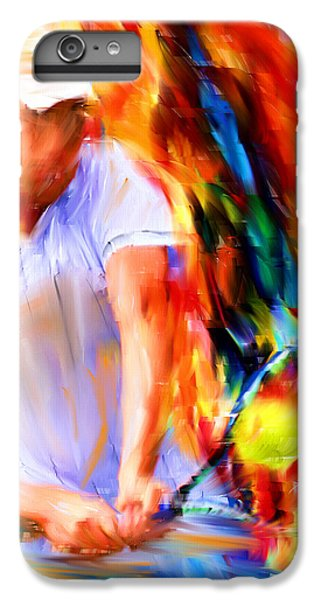 Tennis II IPhone 6 Plus Case by Lourry Legarde