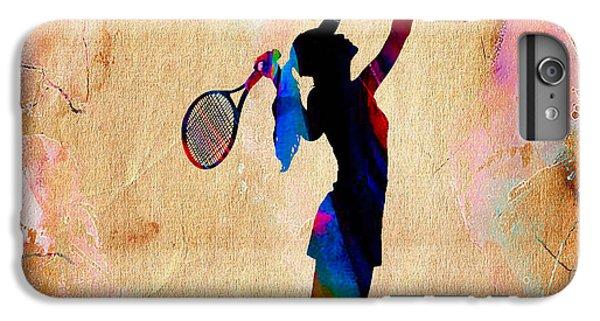 Tennis iPhone 6 Plus Case - Tennis Match by Marvin Blaine