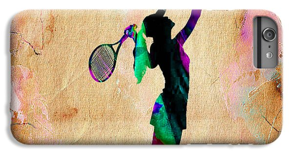 Tennis Player IPhone 6 Plus Case by Marvin Blaine