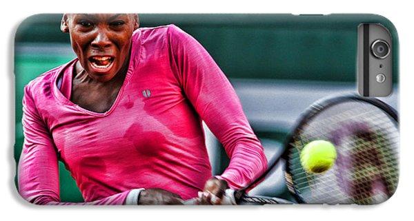 Venus Williams iPhone 6 Plus Case - Tennis Star Venus Williams by Srdjan Petrovic
