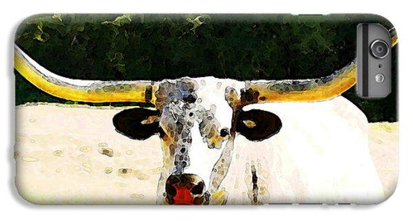 Texas Longhorn - Bull Cow IPhone 6 Plus Case