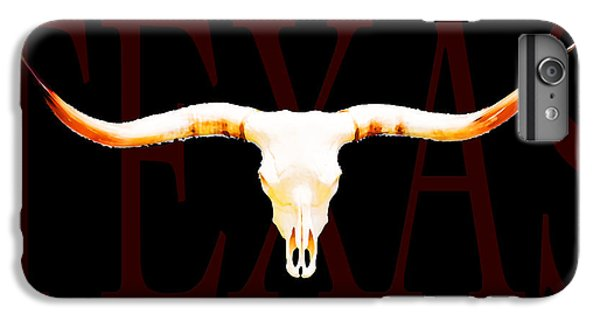 Texas Longhorns By Sharon Cummings IPhone 6 Plus Case by Sharon Cummings