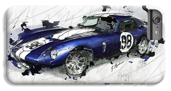 The 1965 Ford Cobra Mustang IPhone 6 Plus Case by Gary Bodnar