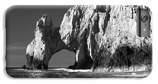 The Arch Cabo San Lucas In Black And White IPhone 6 Plus Case by Sebastian Musial