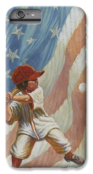 The Batter IPhone 6 Plus Case by Gregory Perillo