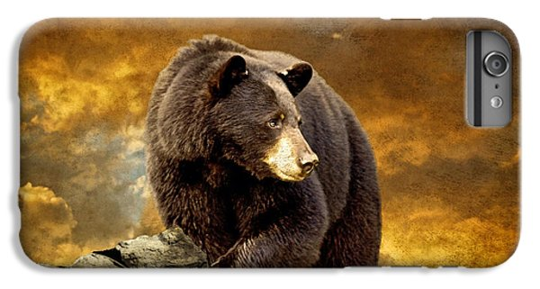 Mountain Sunset iPhone 6 Plus Case - The Bear Went Over The Mountain by Lois Bryan
