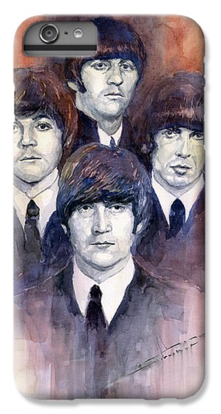 Musician iPhone 6 Plus Case - The Beatles 02 by Yuriy Shevchuk