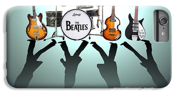 Musician iPhone 6 Plus Case - The Beatles by Lena Day