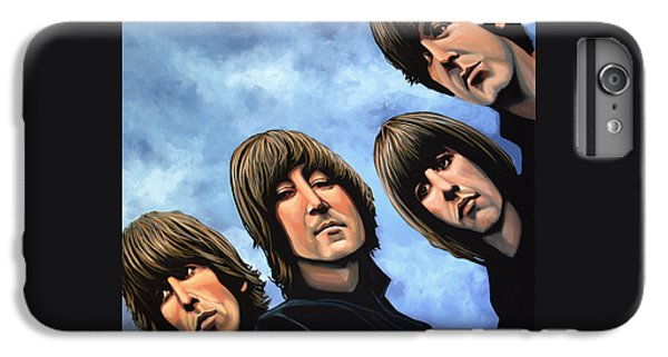 Musician iPhone 6 Plus Case - The Beatles Rubber Soul by Paul Meijering