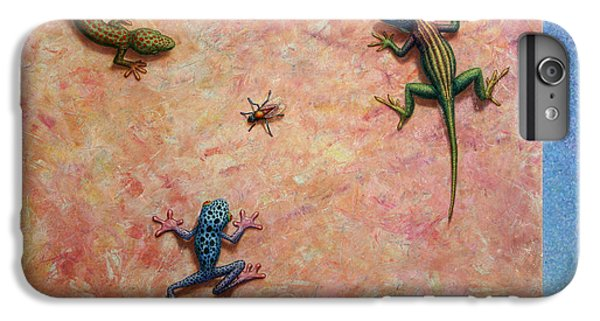 Frogs iPhone 6 Plus Case - The Big Fly by James W Johnson