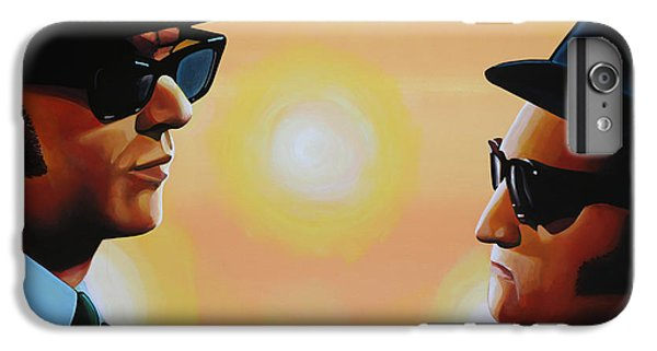 The Blues Brothers IPhone 6 Plus Case by Paul Meijering