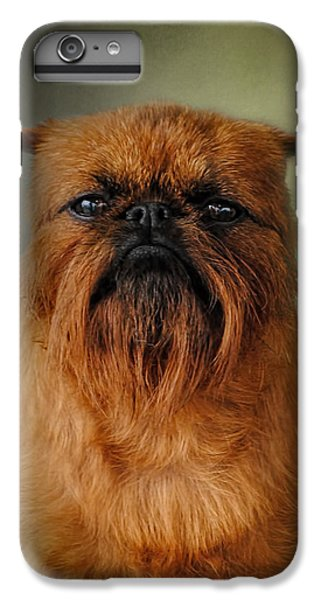 The Brussels Griffon IPhone 6 Plus Case by Jai Johnson
