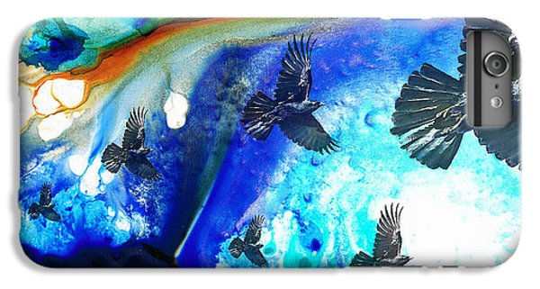 The Calling - Raven Crow Art By Sharon Cummings IPhone 6 Plus Case by Sharon Cummings