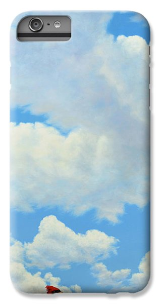 Cardinal iPhone 6 Plus Case - The Cardinal by James W Johnson