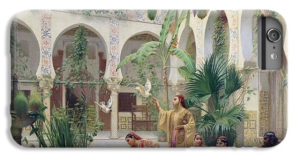 Stork iPhone 6 Plus Case - The Court Of The Harem by Albert Girard