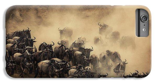 Africa iPhone 6 Plus Case - The Crossing by Waheed Alfazari