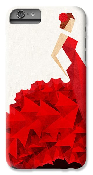 The Dancer Flamenco IPhone 6 Plus Case by VessDSign