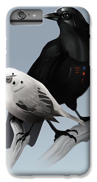 The Dark Side Of The Flock IPhone 6 Plus Case