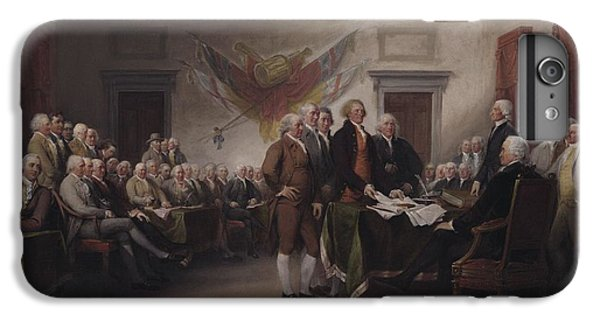 The Declaration Of Independence, July 4, 1776 IPhone 6 Plus Case