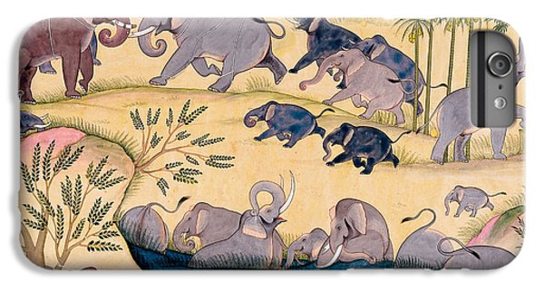 The Elephant Hunt IPhone 6 Plus Case
