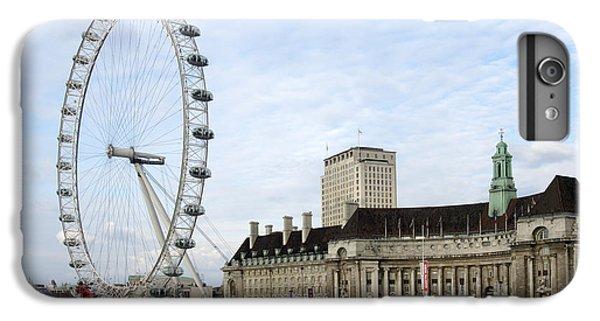 London Eye iPhone 6 Plus Case - The Eye by Mike McGlothlen