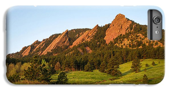 The Flatirons - Spring IPhone 6 Plus Case