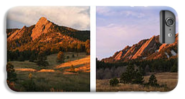 The Flatirons - Four Seasons Panorama IPhone 6 Plus Case