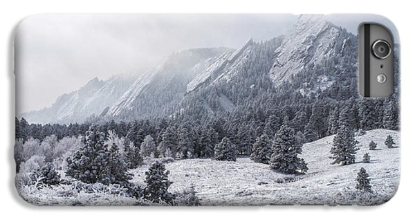 The Flatirons - Winter IPhone 6 Plus Case