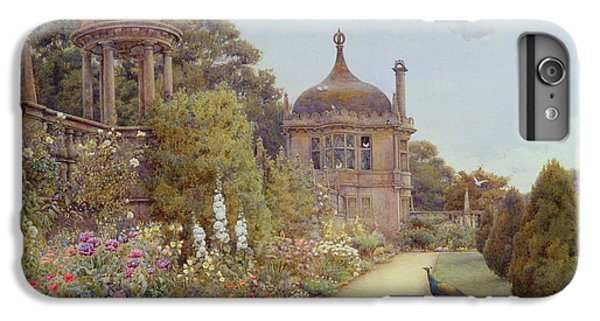 The Gardens At Montacute In Somerset IPhone 6 Plus Case by Ernest Arthur Rowe