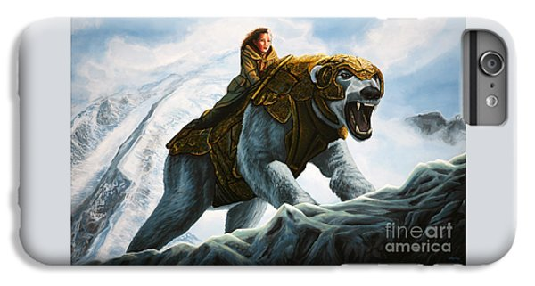Bear iPhone 6 Plus Case - The Golden Compass  by Paul Meijering