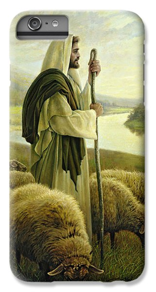 The Good Shepherd IPhone 6 Plus Case by Greg Olsen